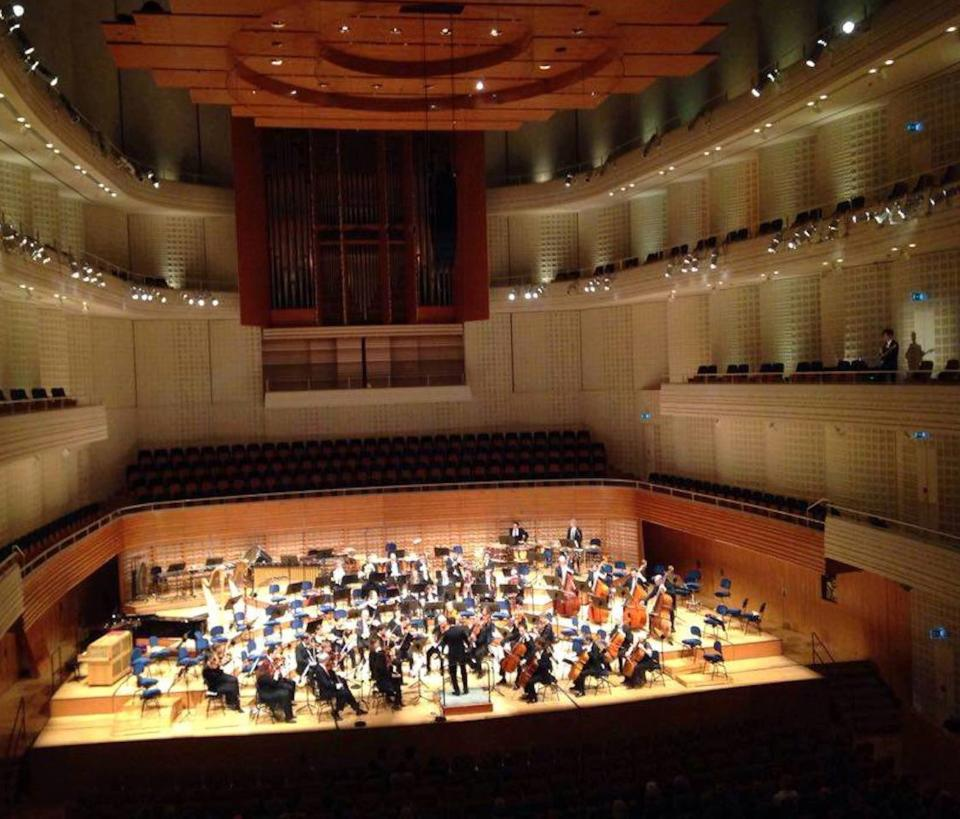 this is the KKL Concert Hall in Lucerne
